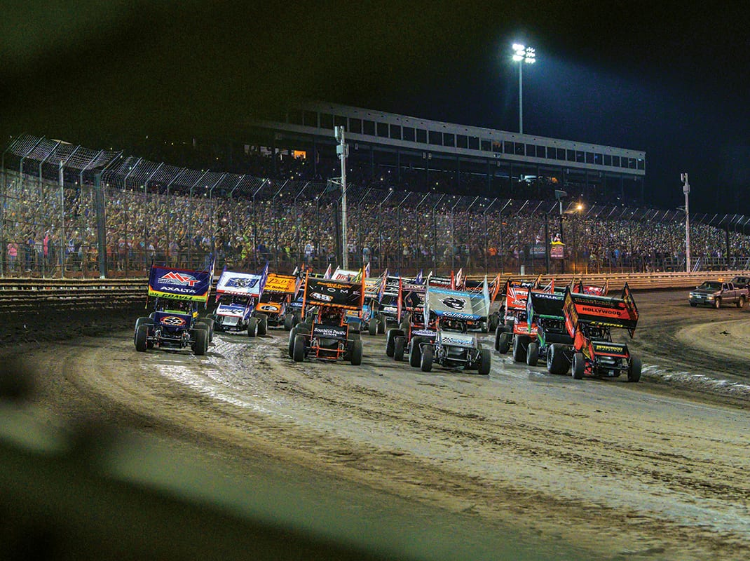 David Gravel's Knoxville Nationals