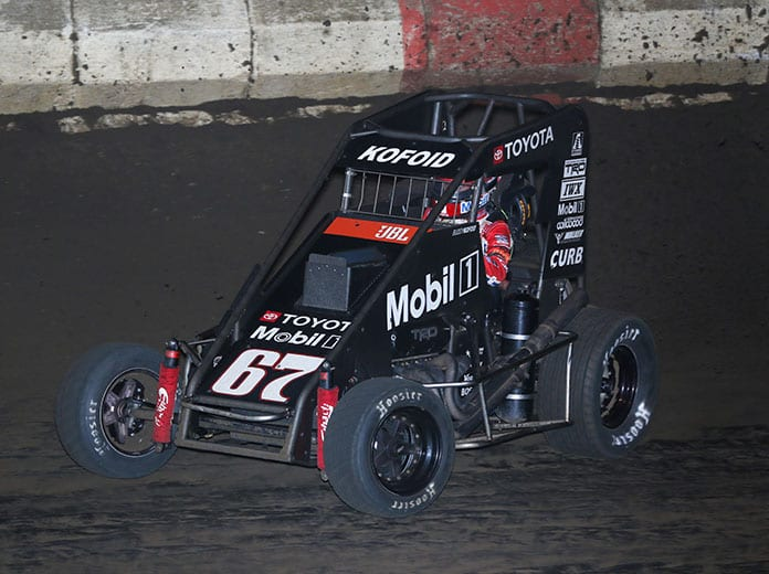 Buddy Kofoid will be among six USAC NOS Energy Drink National Midget Series entries this year for Keith Kunz Motorsports. (Brendon Bauman Photo)