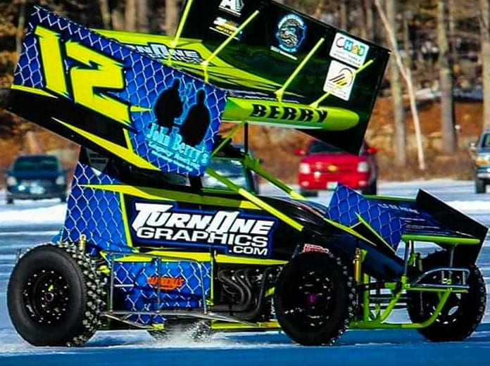 Nick Berry is hoping to continue growing his Sprint Cars on Ice brand in the coming years. (Christina Dobbins Photo)