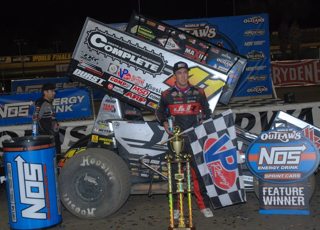 Carson Macedo (David Sink photo)