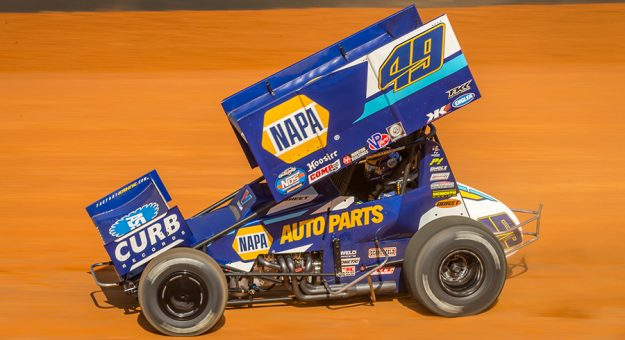 Brad Sweet is hoping to finally figure out Williams Grove Speedway this weekend. (Dallas Breeze Photo)