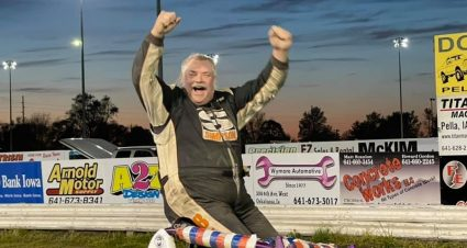 Bell Breaks Through For First Sprint Car Win