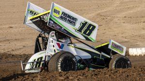 2021 Attica Sprints Cole Macedo Action Mike Campbell Photo