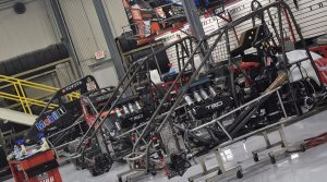 2021 Usac Imw T Off Day Cars Being Maintenanced In Kkm Shop Jacob Seelman Photo