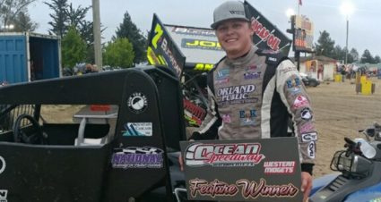 Bower Counts To Three With Western Midget Racing