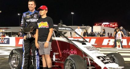 Another LOR Midget Victory For Kody Swanson