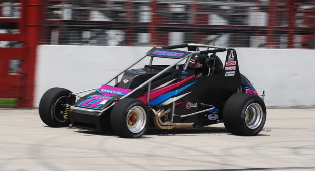 Bobby Santos III will be one of very few competitors in Thursday's USAC Silver Crown Series race at Winchester Speedway with experience at the track.