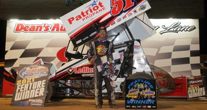Rahmer Pads Lincoln Speedway Championship Lead