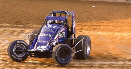 Max Adams made the move from the west coast to Indiana to follow his sprint car dreams