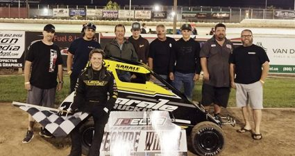 Sarale Makes It Five At Delta Speedway