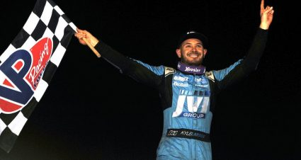Larson's Back & In Victory Lane At The Grove