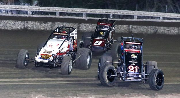 USAC has announced the 2022 dates for Winter Dirt Games XIII at Bubba Raceway Park. (Dick Ayers Photo)